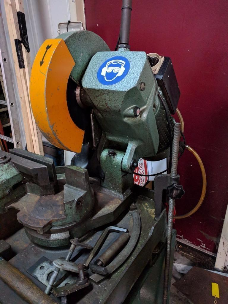 Afkortzaag metaal Huvema 315mm 380V